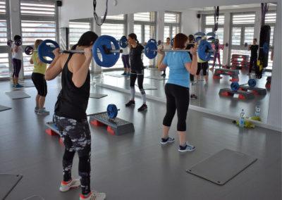 fitness główne w podzakładce