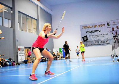 badminton strefa ruchu ksiązenice