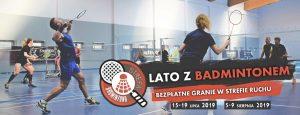 bezpłatne granie lato z badmintonem strefa ruchu książenice