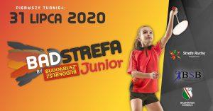 Badminton dla dzieci, badstrefa strefa ruchu Junior Książenice